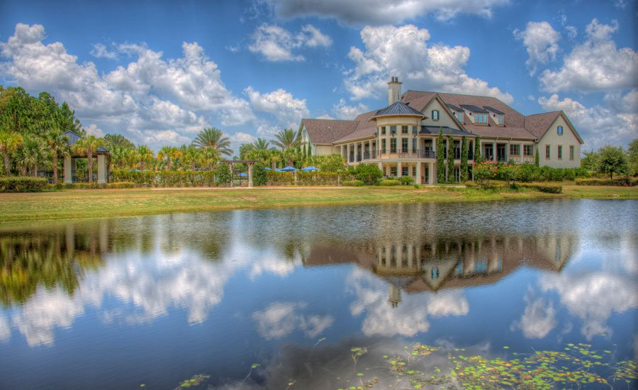 French Provincial Clubhouse at Amelia National