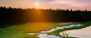 Stunning Sunset on the Tom Fazio Golf Course
