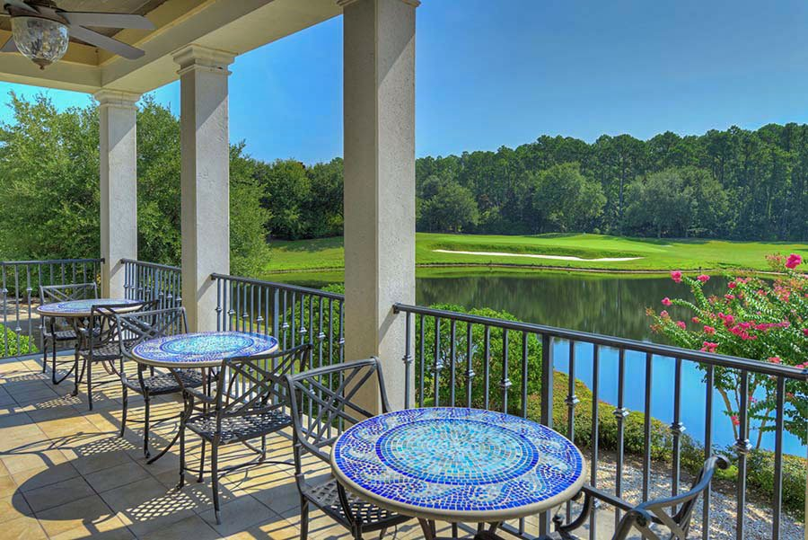 View of the Golf Course from the Clubhouse