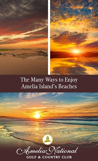 The Many Ways to Enjoy Amelia Island's Beaches