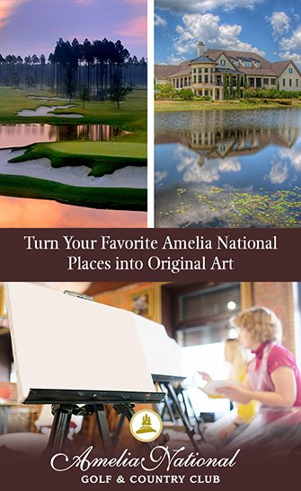 Document the striking vistas you appreciate every day, then turn them into original pieces for your own enjoyment. Create Amelia National art!