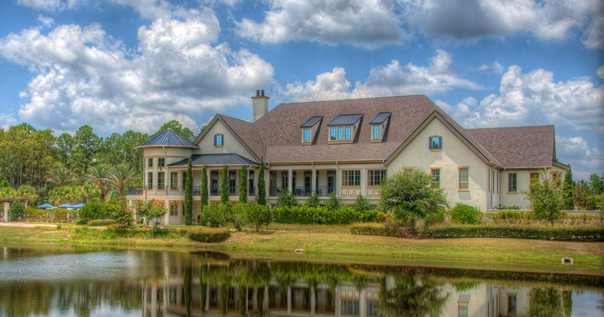 Fans of French Provincial Architecture Will Feel at Home in Amelia National