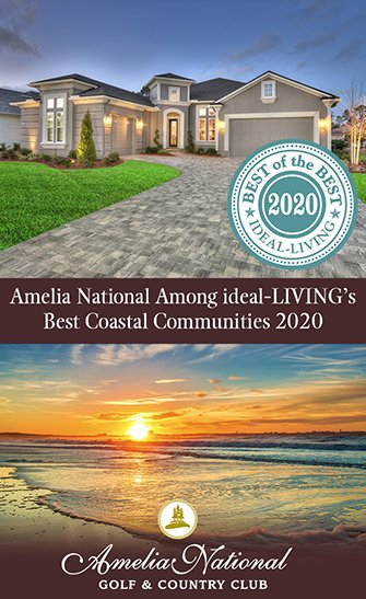Amelia National Among ideal-LIVING's Best Coastal Communities 2020