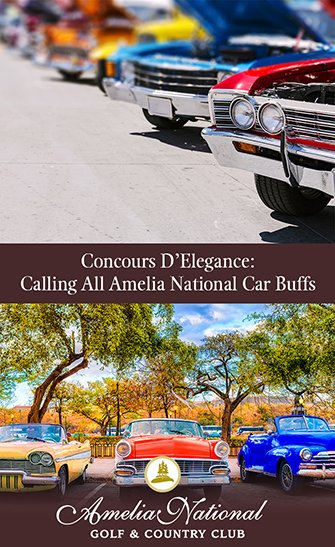 Concours D'Elegance: Calling All Amelia National Car Buffs for Concours Week